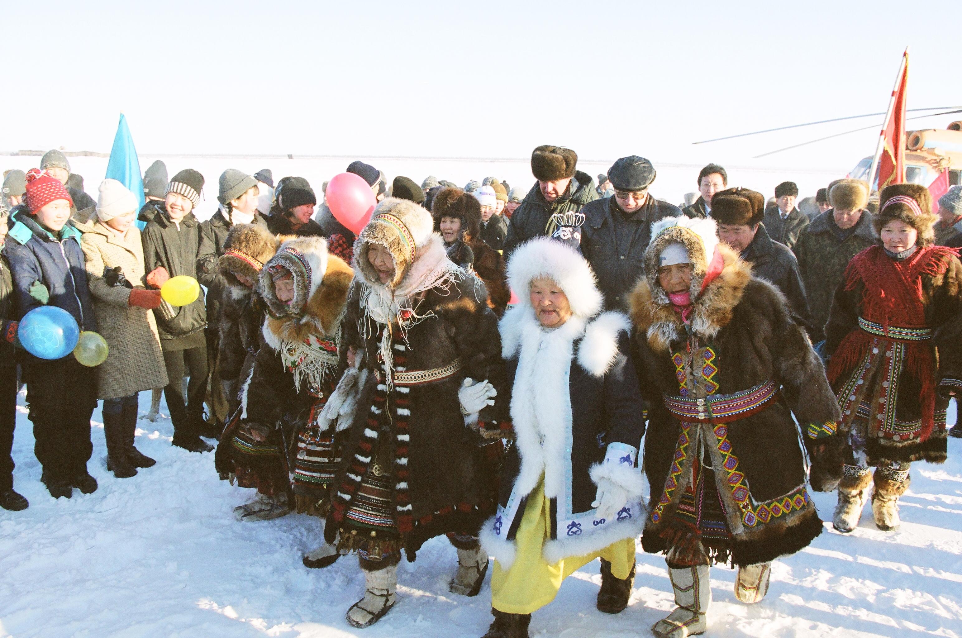 Поздравление малочисленным народам севера