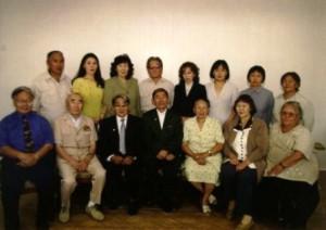 Ф.С. Донской с коллегами в Институте проблем малочисленных народов Севера СО РАН
