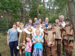 С нашими польскими семьями