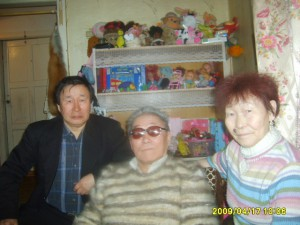 Д.Н. Курилова с братьями - Г.Н.Куриловым и Н.Н. Куриловым