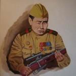 Конкурс эскизного проекта памятника легендарному снайперу Ивану Кульбертинову продлен до 30 сентября
